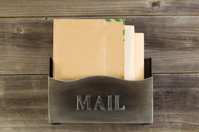 Attach Business Cards to Your Mail